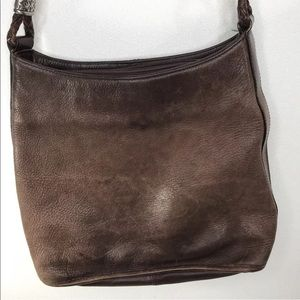 Vintage FOSSIL Hobo1954 Distressed Leather 75082